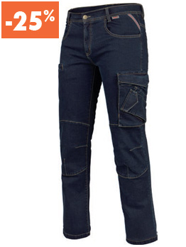 JEANS MULTIPOCHES STRETCH