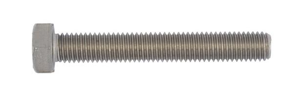 Vis à tête hexagonale ISO4017 acier inoxydable A