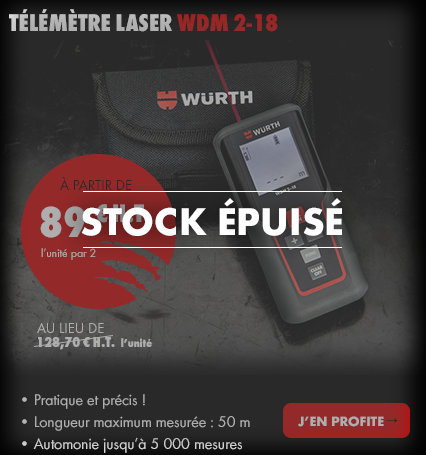 TéLéMèTRE LASER WDM 2-18