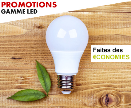 promotions gamme led