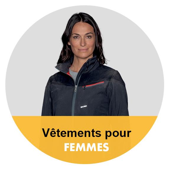 vêtements de travail pour femmes
