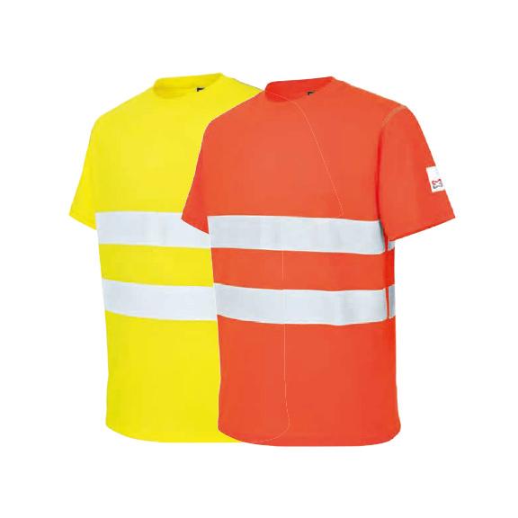 T-shirt, haute visibilité, microporeux - 0