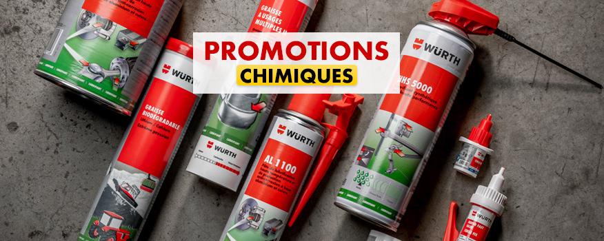 promotions chimique