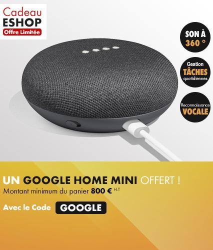 Cadeau eshop Google Home