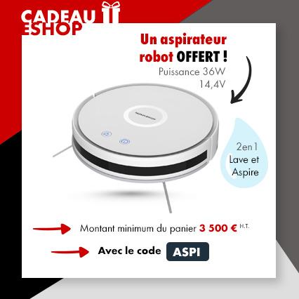 Aspirateur robot 2en1