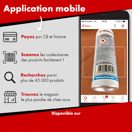 Application mobile Würth