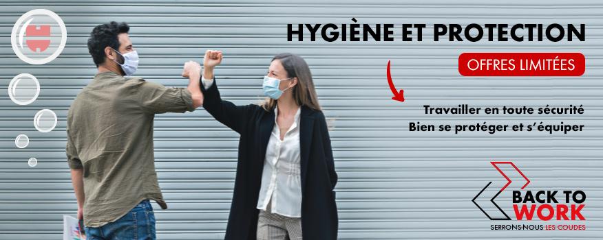 Hygiène et Protection - offres limitées