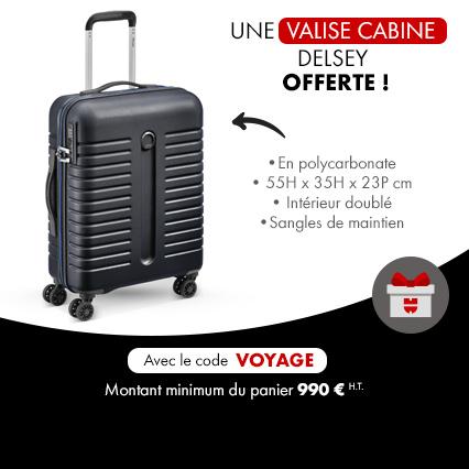 Cadeau eshop valise cabine delsey