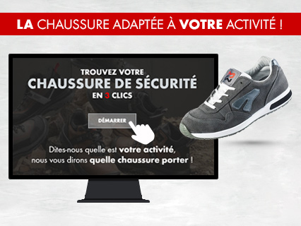 guide de choix chaussures de sécurité