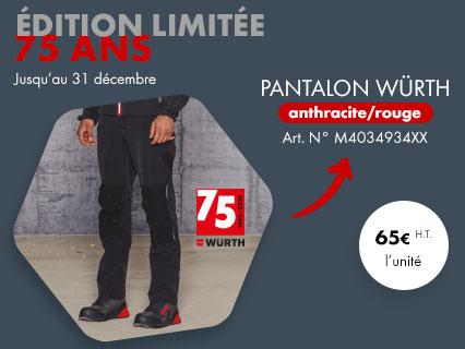 Edition limitée Pantalon 75 ans