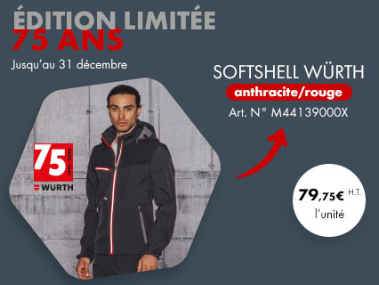 Edition limitée Softshell 75 ans