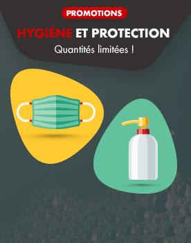 promotions hygiène et protection