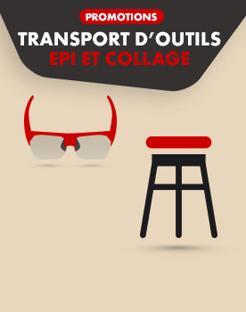 EPI, transport d'outils et collage