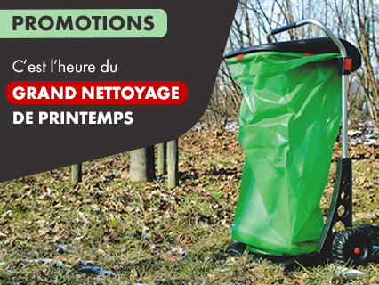 Promotions Grand nettoyage de Printemps