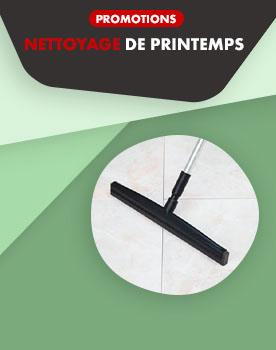Promotions Grand nettoyage de Printemps