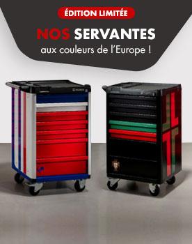Nos servantes personnalisées aux couleurs de l'Europe