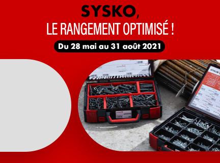 SYSKO, le rangement optimisé