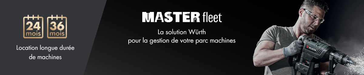 Location de machines Masterfleet