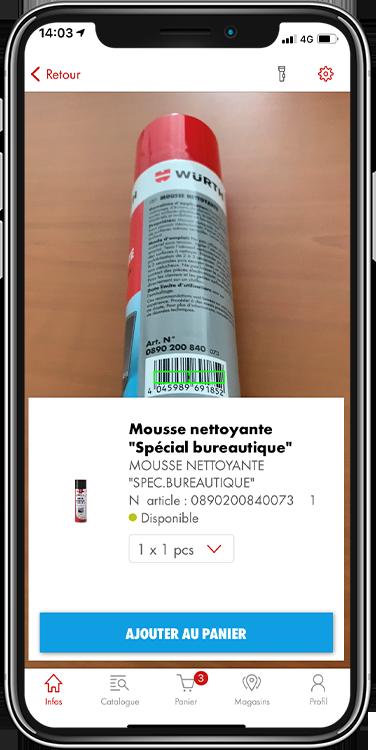 app wurth scan