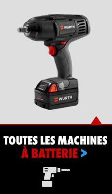 machines batterie