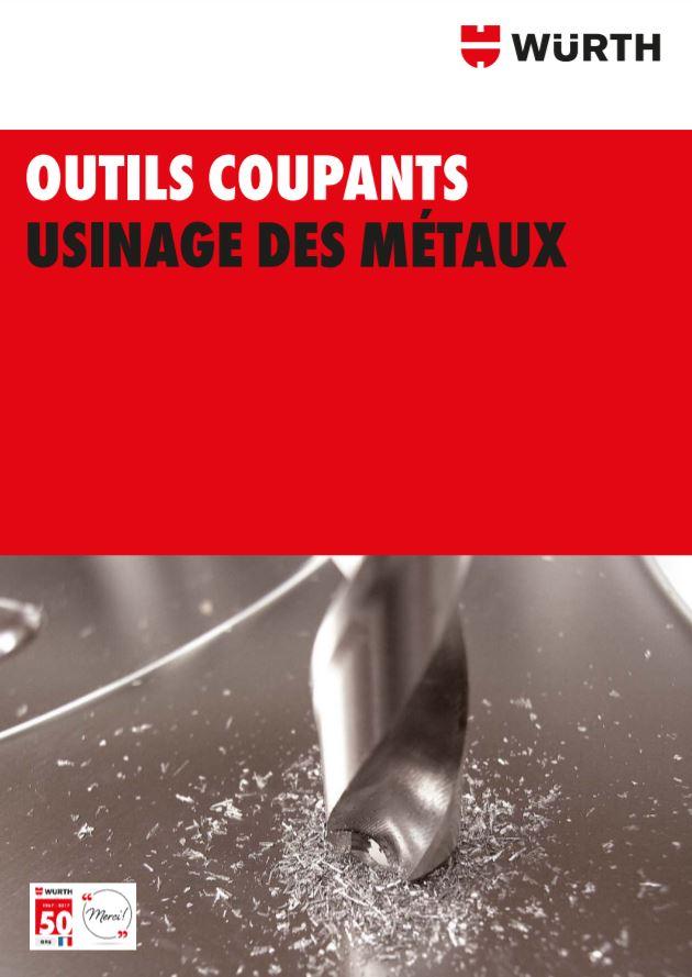 OUTILS COUPANTS USINAGE DES MÉTAUX