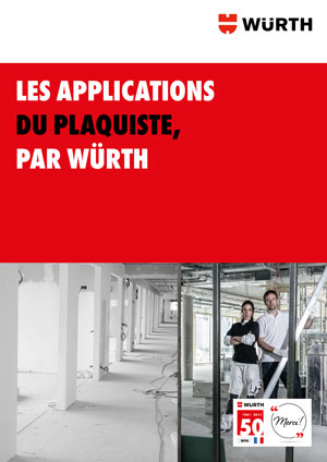 Brochure Applications du plaquiste