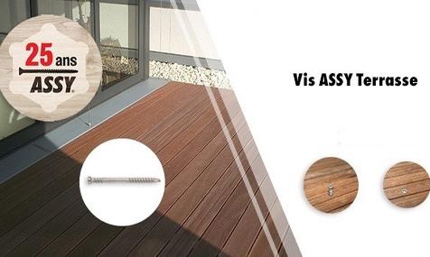 Vis Assy Plus Terrasse : la gamme s'étoffe !
