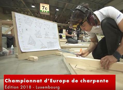Würth accompagne l'équipe de France des jeunes charpentiers dans leurs projets