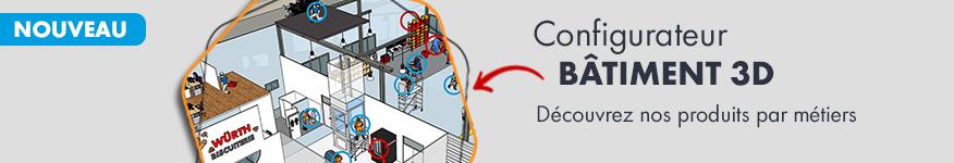 Configurateur Bâtiment industriel