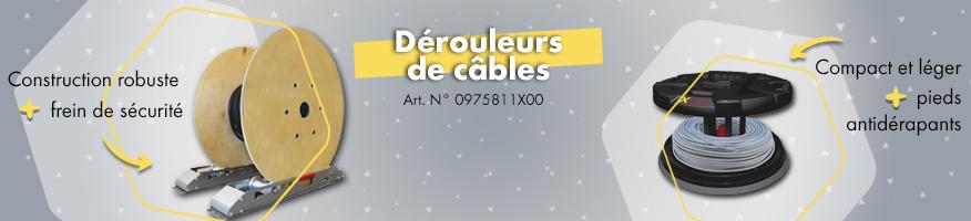 Dérouleurs de câbles électriques