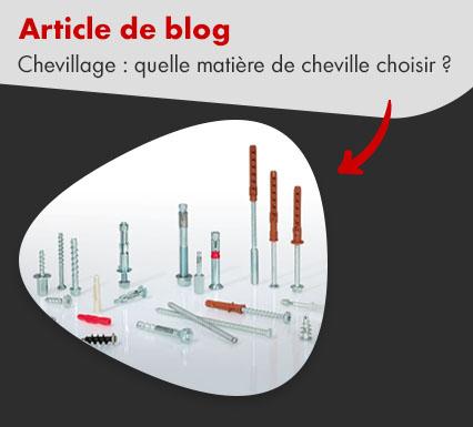 Chevilles : article de blog