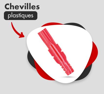 Chevilles plastiques