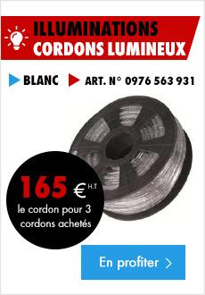 Cordons lumineux=
