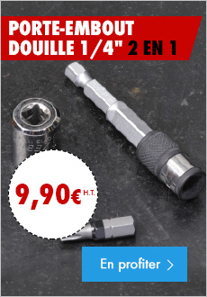 Porte embout