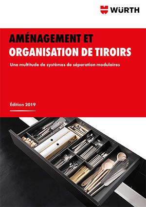 Brochure aménagement et organisation de tiroirs