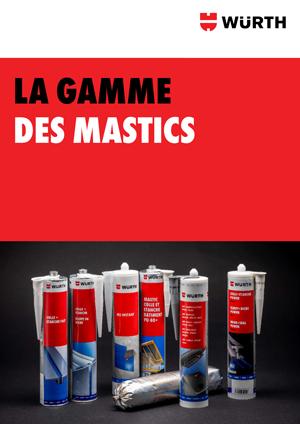 Brochure gamme Mastics