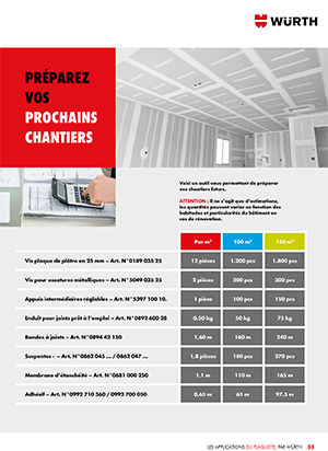 Brochure Préparez vos prochains chantiers