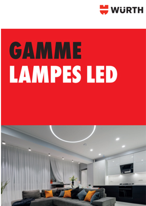 Gamme lampes LED