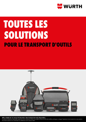 Brochure Transport d'outils