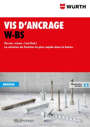 Brochure Vis d'ancrage