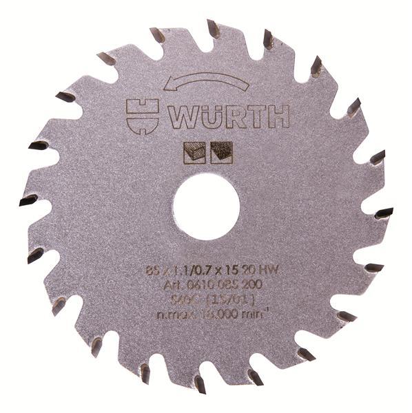 Lame de scie circulaire diametre 85 mm