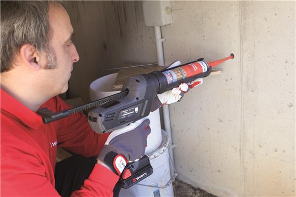 Pistolet mastic colles batterie li ion 18 v akp 18 310 - Pistolet a mastic ...