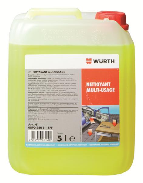 Nettoyant multi usages for Produit entretien interieur voiture