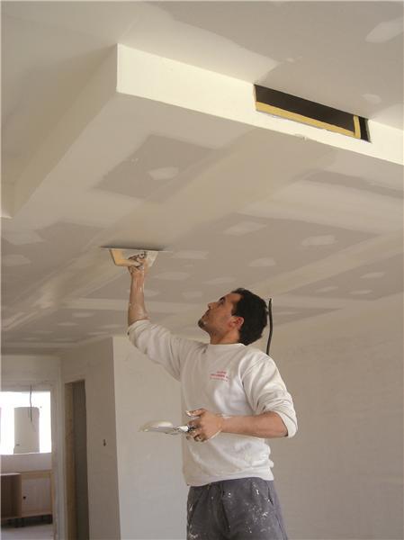 Enduit pour joint de plaques de pl tre enduiplak for Comment choisir un ventilateur de plafond