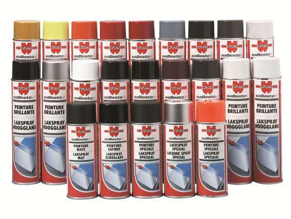Spray peinture for Peinture bombe bois vernis