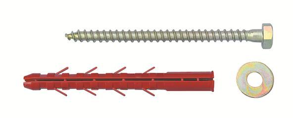 Fixation mat riaux creux 12 x 130 - Cheville pour parpaing creux ...