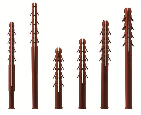 Cheville nylon longue sp ciale parpaing - Cheville parpaing creux ...