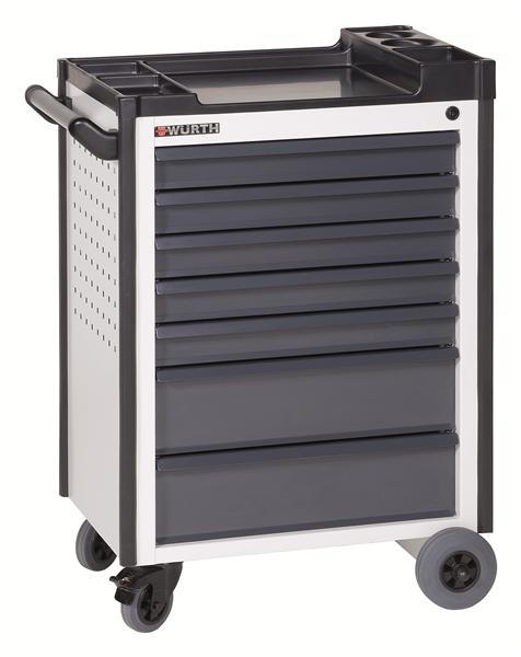 Servante compacte 7 tiroirs avec capot top - Servante avec outils ...