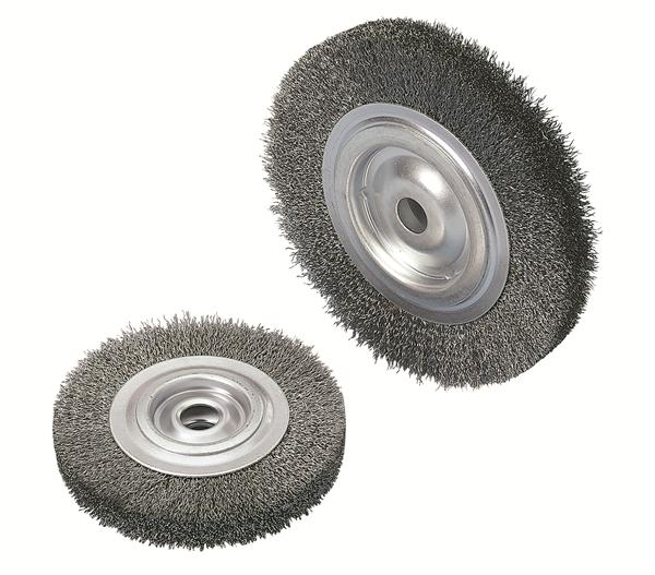 Brosse circulaire pour tourets - Brosse metallique meuleuse ...